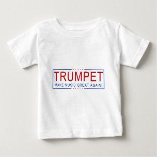Camiseta De Bebé ¡TROMPETA - haga la música grande otra vez!