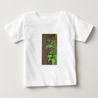 Camiseta De Bebé Tronco con follaje