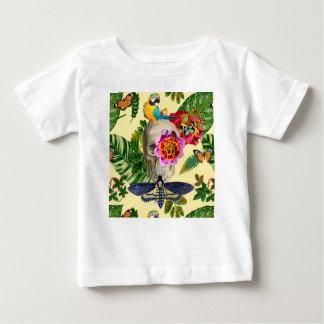 Camiseta De Bebé Tropical Skull