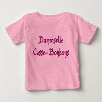 Camiseta De Bebé Tshirt bebé muchacha Señorita rompe caramelos