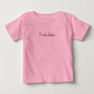Camiseta De Bebé Tshirt niño 'Desorden Maker'