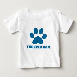 CAMISETA DE BEBÉ TURKISH VAN CAT DESIGNS