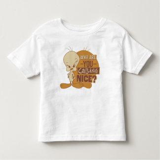 Camiseta De Bebé ¿TWEETY™- quién son usted que llama Niza?