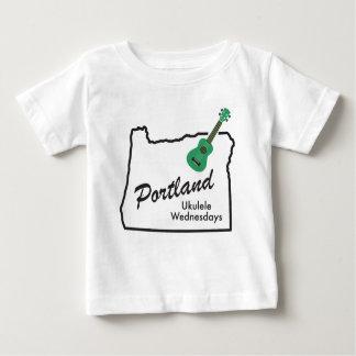 Camiseta De Bebé Ukulele miércoles de Portland