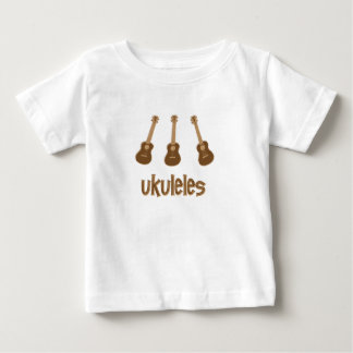 Camiseta De Bebé ukuleles