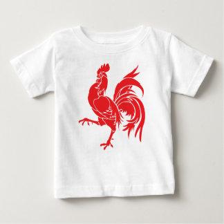 Camiseta De Bebé Un gallo rojo