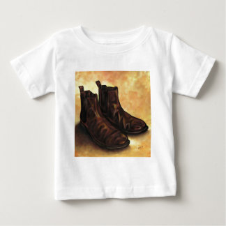 Camiseta De Bebé Un par de botas de Chelsea