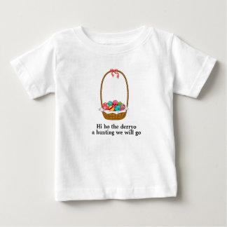 Camiseta De Bebé Una caza iremos