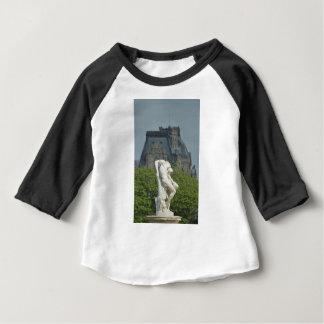 Camiseta De Bebé Una estatua de mármol clásica en París