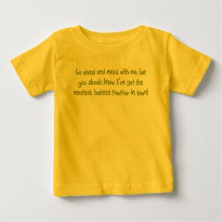 Camiseta De Bebé Una mala papaya
