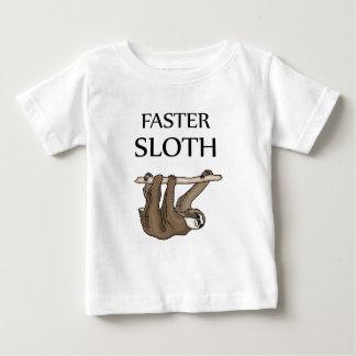 Camiseta De Bebé una pereza más rápida