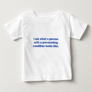 Camiseta De Bebé Una persona con una condición preexistente