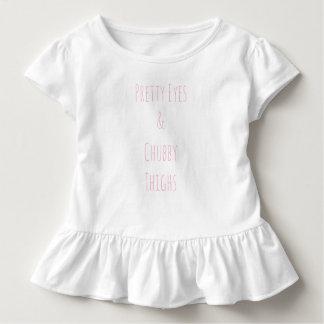 """Camiseta De Bebé """"Una pieza de los ojos del bonito y de los muslos"""