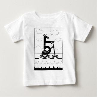 Camiseta De Bebé Unicornio de cinco velocidades