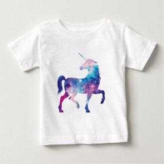 Camiseta De Bebé Unicornio mágico brillante