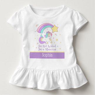 Camiseta De Bebé Unicornio mágico personalizado personalizado lindo