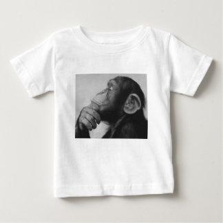 Camiseta De Bebé universidad del mono