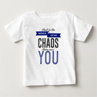 Camiseta De Bebé Usted en el caos