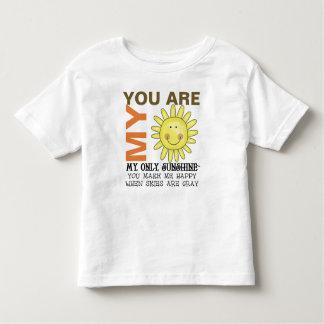 Camiseta De Bebé Usted es mi sol