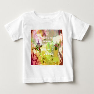 Camiseta De Bebé Usted está siempre conmigo incluso que usted no es