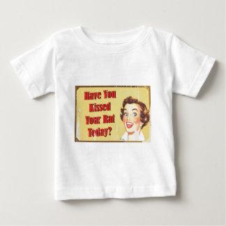 Camiseta De Bebé ¿Usted ha besado su rata hoy?