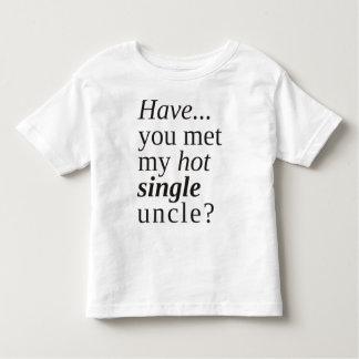 Camiseta De Bebé ¿usted ha encontrado a mi solo tío caliente?