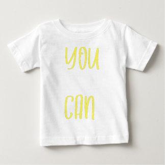 Camiseta De Bebé Usted puede