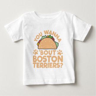 Camiseta De Bebé ¿Usted quiere a los terrieres de Boston del
