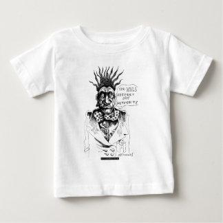 Camiseta De Bebé Usted respetará mi autoridad