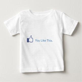 Camiseta De Bebé Usted tiene gusto de este bebé