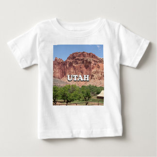Camiseta De Bebé Utah: Fruita, parque nacional del filón del
