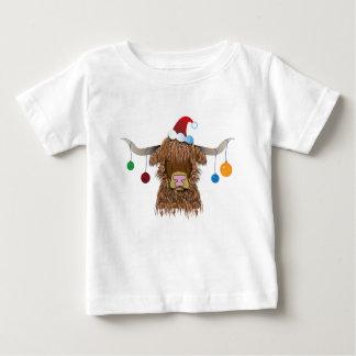 Camiseta De Bebé Vaca del navidad