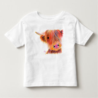 """Camiseta De Bebé Vaca escocesa """"SATSUMA DULCE"""" de la montaña por"""