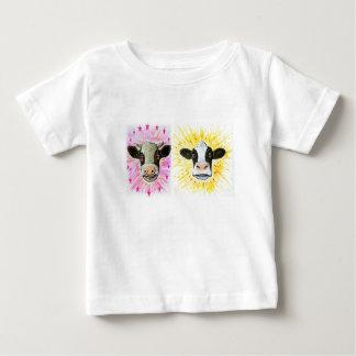 Camiseta De Bebé Vacas locas