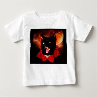 Camiseta De Bebé vampiro del gato - gato negro - gatos divertidos
