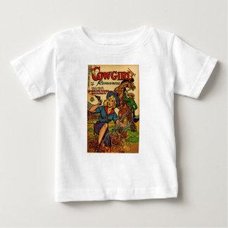 Camiseta De Bebé Vaquera hacia fuera en la gama