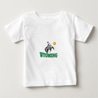 Camiseta De Bebé Vaquero de Wyoming