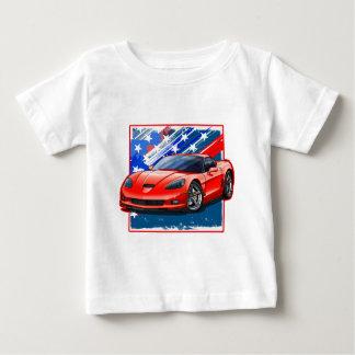 Camiseta De Bebé Vette_Red