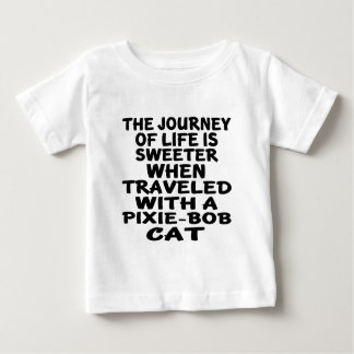 Camiseta De Bebé Viajado con el gato de Duendecillo-Bob