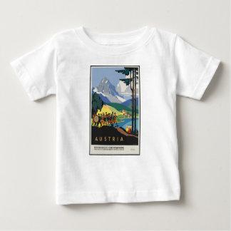 Camiseta De Bebé Viaje Austria del vintage