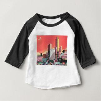 Camiseta De Bebé Viaje del vintage de Los Ángeles
