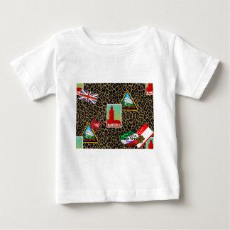 Camiseta De Bebé viajero de mundo