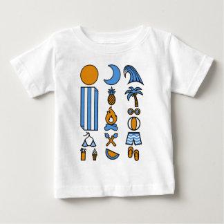 Camiseta De Bebé Vida de la playa del verano
