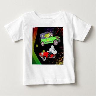 Camiseta De Bebé Viejo un montón del coche de la moda de pelotas de