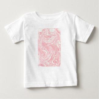 Camiseta De Bebé Vintage de mármol del diseño