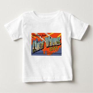 Camiseta De Bebé Vintage New York City