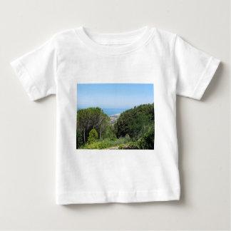 Camiseta De Bebé Vista aérea panorámica de la ciudad de Livorno