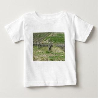 Camiseta De Bebé Vista escénica de la ladera del balanceo con los