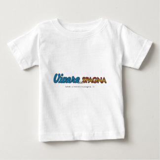 Camiseta De Bebé Vivere en Spagna