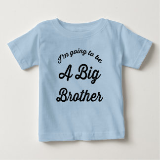 Camiseta De Bebé Voy a ser un hermano mayor